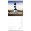 Poznámkový kalendář Majáky 2022, 30 × 30 cm