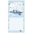 Poznámkový kalendár Medvedík Pú - Prvý rok dieťaťa, nedatovaný, 30 x 30 cm