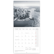Poznámkový kalendár New York 2021, 30 × 30 cm
