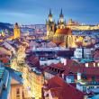 Poznámkový kalendár Praha nostalgická 2021, 30 × 30 cm