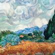Poznámkový kalendár Vincent van Gogh 2021, 30 × 30 cm