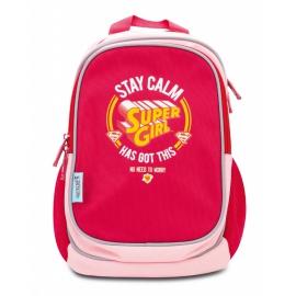 Predškolský batoh Supergirl – STAY CALM