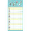 Rodinný plánovací kalendár CZ 2021, 30 × 30 cm