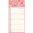Rodinný plánovací kalendár 2022, 30 × 30 cm