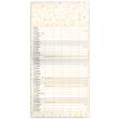 Rodinný plánovací kalendár TERIBEAR CZ 2022, 30 × 30 cm