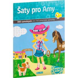 Šaty pro AMY - kniha samolepiek