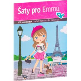 Šaty pro EMMU - kniha samolepiek