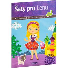 Šaty pro LENU - kniha samolepiek