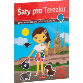 Šaty pro TEREZKU - kniha samolepiek