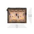 Súprava 3 taštičiek Klimt
