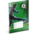 Školský zošit Futbal, A5, 40 listov, štvorčekovaný