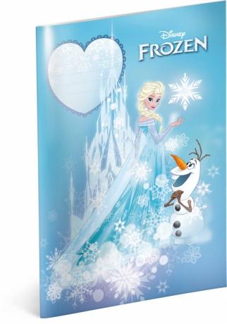 Školský zošit Frozen – Ľadové kráľovstvo Castle, A4, 40 listov, linajkovaný