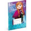 Školský zošit Frozen – Ľadové kráľovstvo Flower, A5, 20 listov, linajkovaný