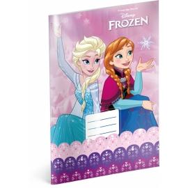 Školský zošit Frozen – Ľadové kráľovstvo Pink, A4, 20 listov, čistý