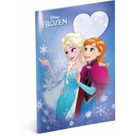 Školský zošit Frozen – Ľadové kráľovstvo Smile, A4, 40 listov, štvorčekovaný