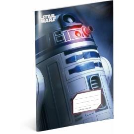 Školský zošit Star Wars – R2-D2, A5, 40 listov, štvorčekovaný