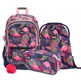 Školská sada Flamingo