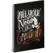 Špirálový blok Mickey – Creativity, linajkovaný, A5