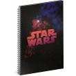 Špirálový blok Star Wars – Galaxy, čistý, A4