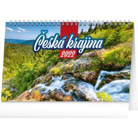 Stolový kalendár Česká krajina 2022, 23,1 × 14,5 cm
