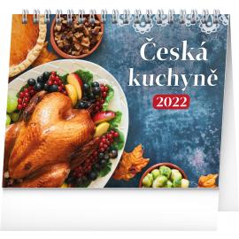Stolový kalendár Česká kuchyňa 2022, 16,5 × 13 cm