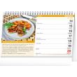 Stolový kalendár Domáca kuchyňa 2021, 23,1 × 14,5 cm
