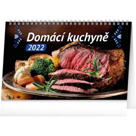 Stolový kalendár Domáca kuchyňa 2022, 23,1 × 14,5 cm
