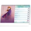 Stolový kalendár Frozen – Ľadové královstvo II 2021, 23,1 × 14,5 cm