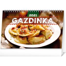 Stolový kalendár Gazdinka SK 2021, 23,1 × 14,5 cm