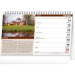 Stolový kalendár Hrady a zámky 2021, 23,1 × 14,5 cm