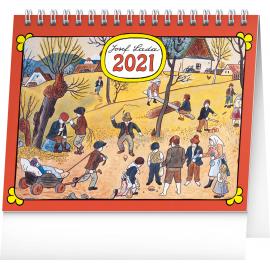 Stolový kalendár Josef Lada – Na poli 2021, 16,5 × 13 cm