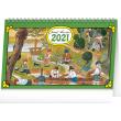 Stolový kalendár Josef Lada – Na dedine 2021, 23,1 × 14,5 cm