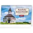 Stolový kalendár Katolícky kalendár SK 2021, 23,1 × 14,5 cm