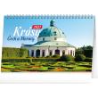 Stolový kalendár Krásy Čech a Moravy 2021, 23,1 × 14,5 cm