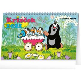 Stolový kalendár Krtko 2021, 23,1 × 14,5 cm