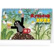 Stolový kalendár Krtko 2022, 23,1 × 14,5 cm
