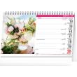 Stolový kalendár Kytice CZ/SK 2021, 23,1 × 14,5 cm