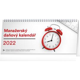 Stolový kalendár Manažérsky daňový SK 2022, 33 × 14,5 cm