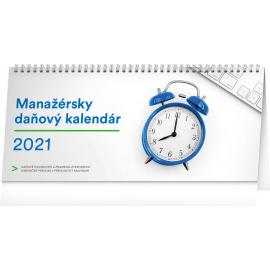 Stolový kalendár Manažérsky daňový SK 2021, 33 × 14,5 cm
