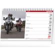 Stolový kalendár Motorky 2021, 23,1 × 14,5 cm