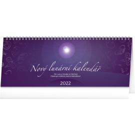 Stolový kalendár Nový lunárny kalendár 2022, 33 × 12,5 cm