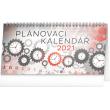 Stolový kalendár Plánovací 2021, 25 × 12,5 cm