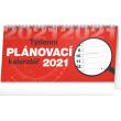 Stolový kalendár Plánovací riadkový SK 2021, 25 × 12,5 cm