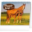 Stolový kalendár Poézie koní SK 2021, 16,5 × 13 cm