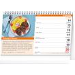 Stolový kalendár Lacné recepty 2021, 23,1 × 14,5 cm