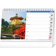 Stolový kalendár Svet SK 2021, 23,1 × 14,5 cm