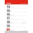 Stolový kalendár Trhací týždenný 2021 A5