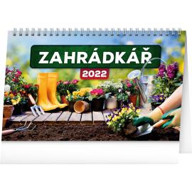 Stolový kalendár Záhradkár SK 2022, 23,1 × 14,5 cm