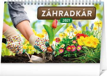 Stolový kalendár Záhradkár SK 2021, 23,1 × 14,5 cm