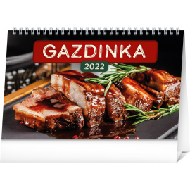 Stolový kalendár Gazdinka 2022, 23,1 × 14,5 cm